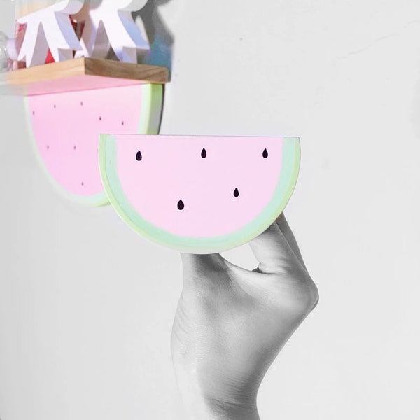 Pink Watermelon Hook / Hanger-Handmade (2/box) - Mini Me Ltd