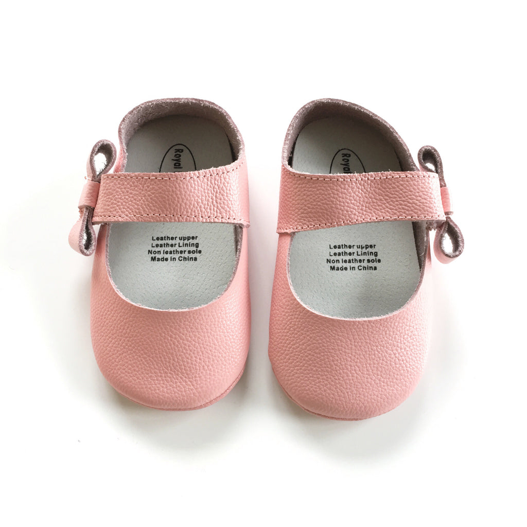 Leather shoes -B - Mini Me Ltd