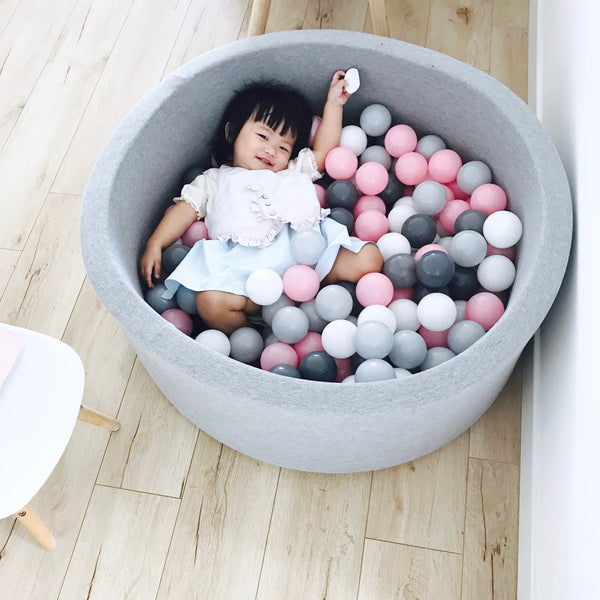 Kids Play Ball Pool Pit-Grey - Mini Me Ltd