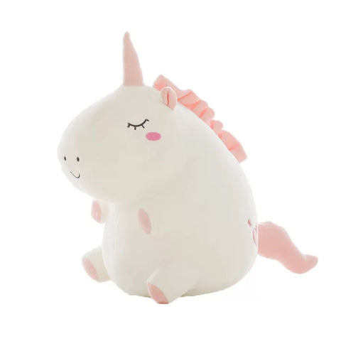 White Unicorn Soft Toy - Mini Me Ltd