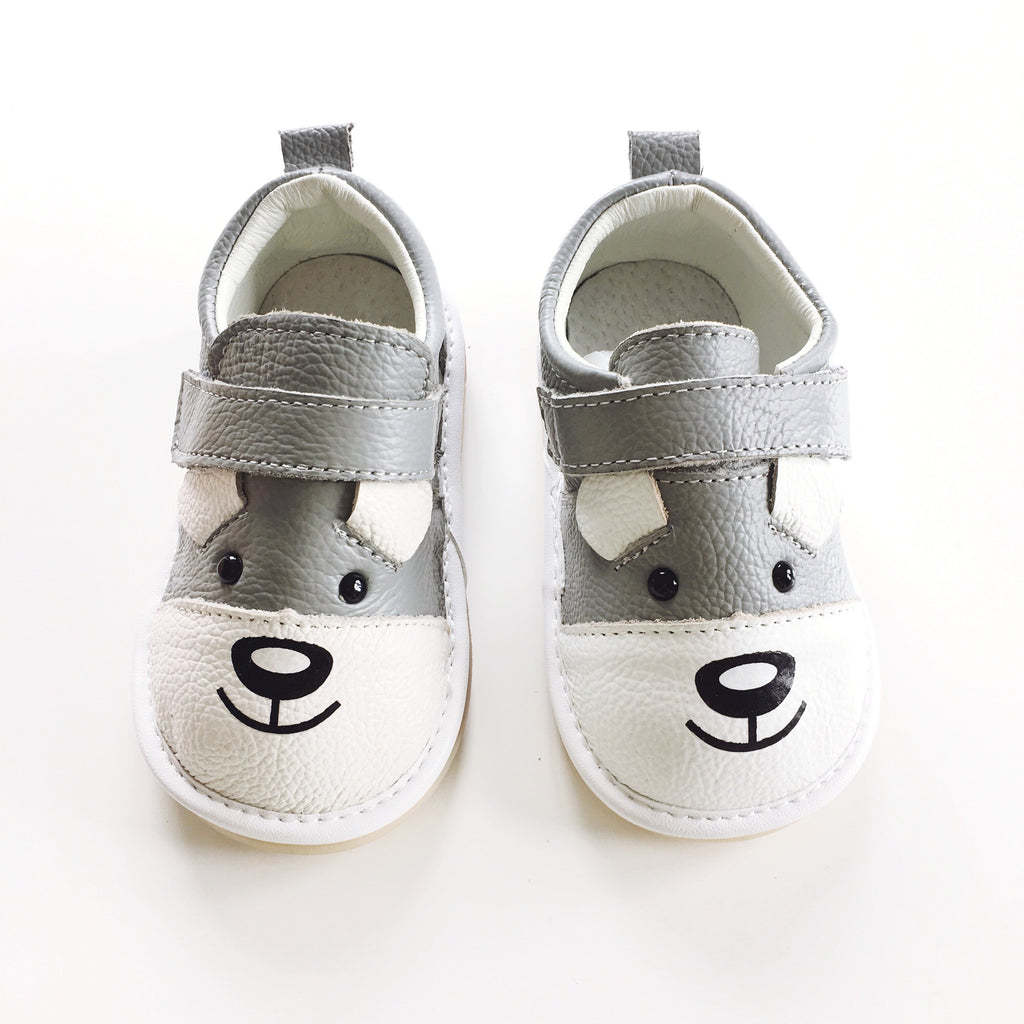 Leather Shoes-Puppy - Mini Me Ltd