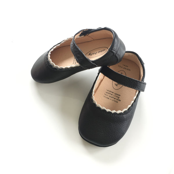 Leather shoes -H - Mini Me Ltd