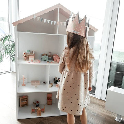 Cloudberry Castle Dollhouse Bookcase - Mini Me Ltd