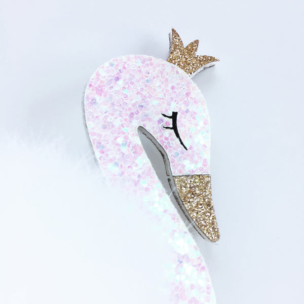 Swan Hair Clip-Lily - Mini Me Ltd