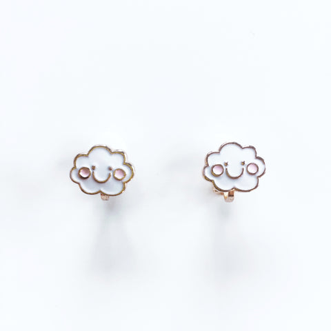 Cloud Earrings for Kids - Mini Me Ltd