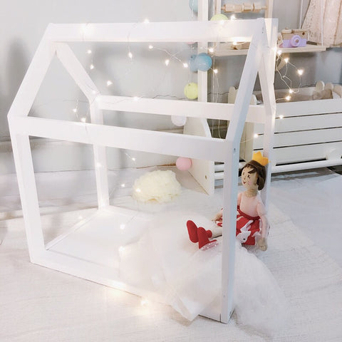 Mini house frame bed for dolls - Mini Me Ltd