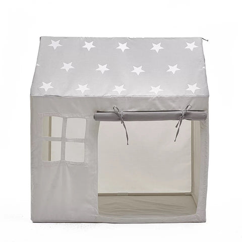 Mini Canvas House (White) - Mini Me Ltd