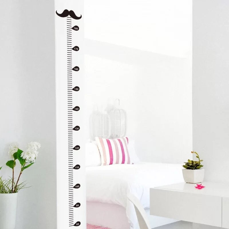Growth Chart Sticker /Kids Room DIY Wall Decals - Mini Me Ltd