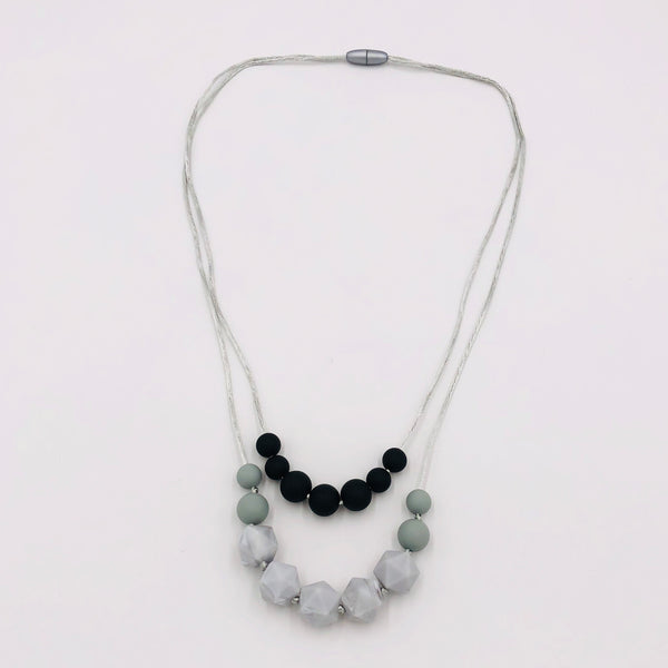 Silicone Baby Teether / Teething Necklace for Mum - Mini Me Ltd