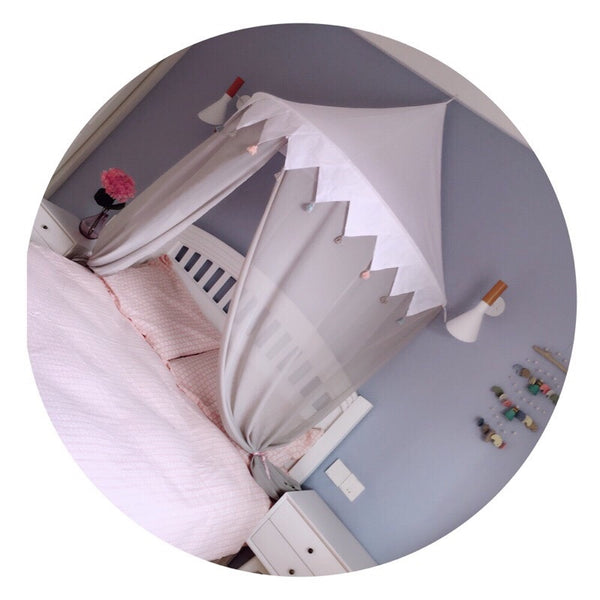Hanging Bed Canopy Room Decor - Mini Me Ltd