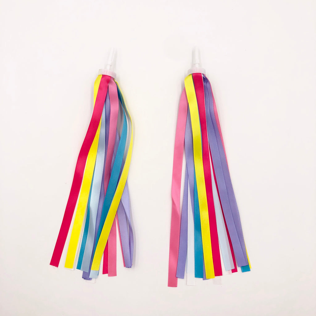 Rainbow Scooter Tassels - Mini Me Ltd
