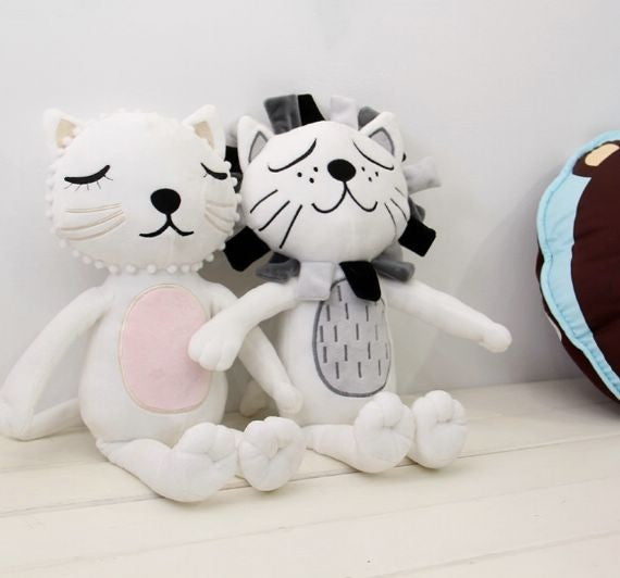 Baby Cat & Lion Plush Soft Toy - Mini Me Ltd
