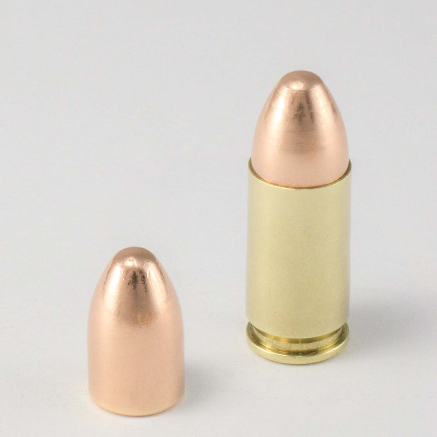 9mm 124gr FMJ Competition