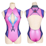 2017 Sexy Game OW D.VA Dva Cosplay Costume Anime Swimwear Mercy Widowmaker One Piece Swimwear Swimsuit SUKUMIZU Wholsale Price