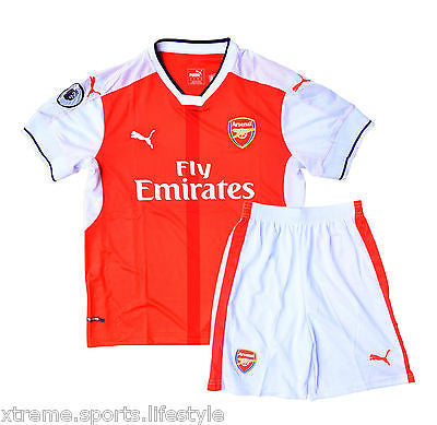Arsenal Football Jersey Set for Adults - Jersey + Shorts