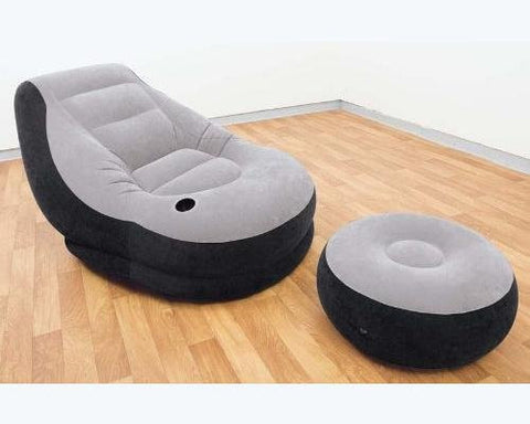 Intex Recreation Ultra Lounge with Ottoman