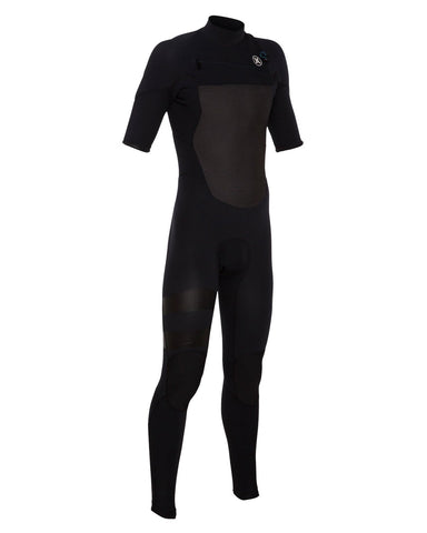Hurley MFS0000130 Boys Fusion 202 Ss Fullsuit Black B Medium Tall