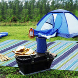 IHOME&ILIFE Beach Blanket Mat-Portable Picnic Blanket Outdoor Mat Beach Blanket For Traveling Camping and a Children Play Mat- Water Proof Mold And Mildew-resistant Folding Grass Mat Easy to Clean