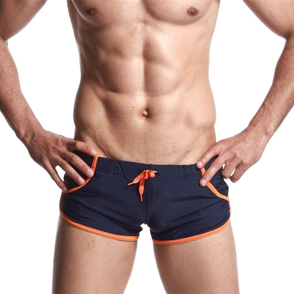 24efdcc24a45 iMaySon(TM) Men's Board Lace-up Sports Swimming Underwear Trunks With  Pocket Orange