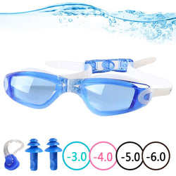 82c4a4735c5 YINGNEW Prescription Swimming Goggles No Leaking Anti Fog UV Protection Triathlon  Swim Goggles with Free Protection