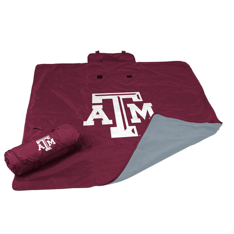NCAA Texas A&M Aggies Adult All Weather Blanket Maroon
