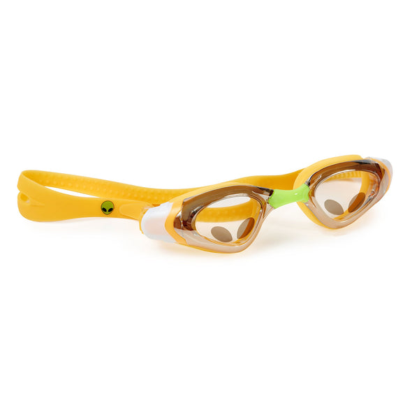 6f873b95a421 Swimming Goggles For Boys - Glow In The Dark Alien Kids Swim Goggles By  Bling2o Outerspace
