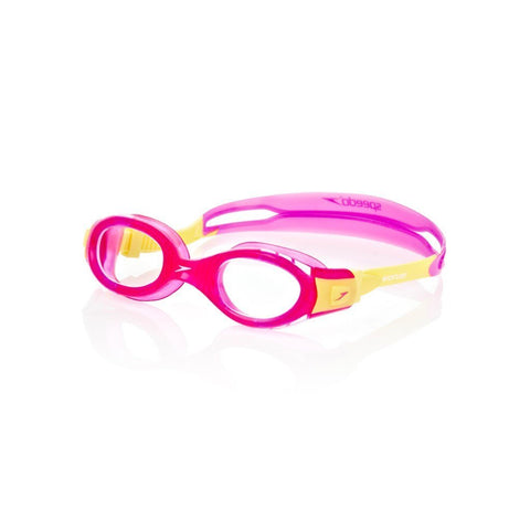 Speedo Futura Biofuse Swimming Goggle-Junior Size,Pink