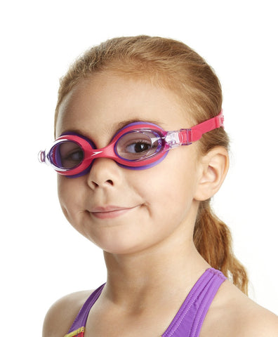 Speedo SKOOGLE Swimming Goggle - kids Size Pink/Purple