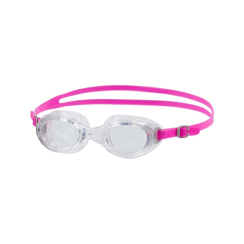 Speedo Futura Classic Female Swimming Goggle-Adult Size,Pink/Clear