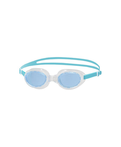 Speedo Futura Classic Female Swimming Goggle-Adult Size,Green/Blue
