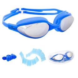 7a69c8bcf06 Swim Goggles AngryShark Clear Swimming Goggles No Leaking Anti Fog Triathlon  Swim Goggles with Free Protection