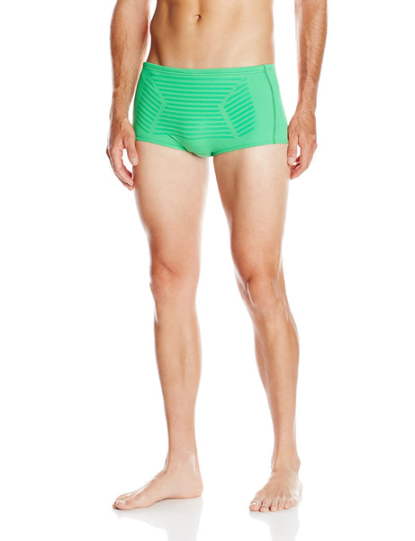 b410b31d22 Speedo Men's Endurance Lite Hydralign Drag Brief Swimsuit Kelly Green 28