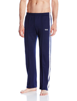 8f033692314f TYR Sport WSAP2A Mens Freestyle Warm-Up Pants Navy X-Large