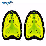 COPOZZ Adjustable Silicone Hand Swimming Trax Paddles Fins Flippers Webbed Training Pool Diving Gloves padel for Men Women Kids