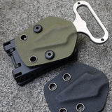 EDC Gear Functional K Sheath Kydex Scabbard Belt Clip Outdoor Camp Portable Tool Drop Shipping