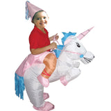 Halloween Purim inflatable child adult costume kids party dinosaur unicorn women Halloween costume for kids Ride on Costume
