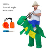 Holiday Carnival Costume Women Dinosaur Cowboy Inflatable Costumes Funny Party Dress Animal Cosply Halloween Costume for Kids