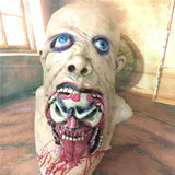 Hot Horrible Latex Rotting Zombie Mask Scary Vampire Ghost Demon Horror Full Face Masks Halloween Home Party Decorations Props