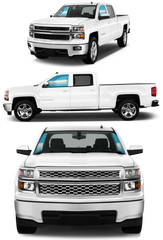 LARGE TRUCK | FRONT DOORS - Automotive Tinting