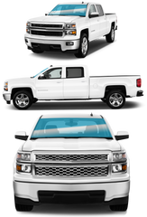 LARGE TRUCK | FRONT WINDSHIELD - Automotive Tinting