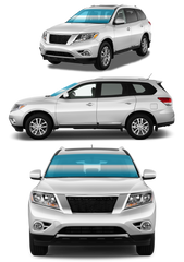 MID-SIZE SUV | FRONT WINDSHIELD - Automotive Tinting