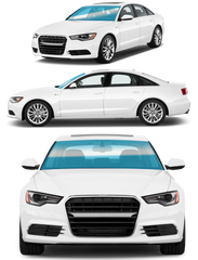 SEDAN | FRONT WINDSHIELD - Automotive Tinting