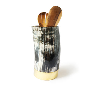 ANKOLE TALL VESSEL -DARK GRAIN - Ashepa Lifestyle
