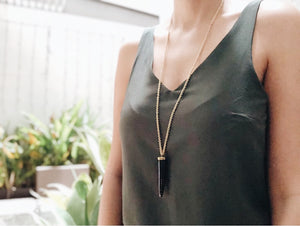 TOOTH PENDANT NECKLACE - Ashepa Lifestyle