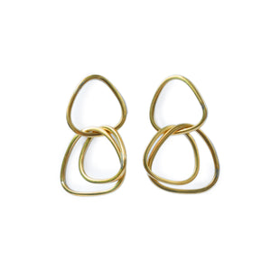 TRIPLE RING EARRINGS - Ashepa Lifestyle