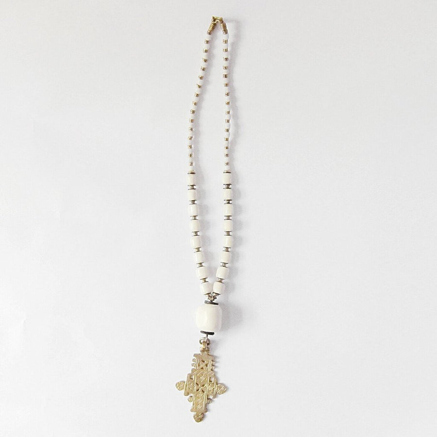 RENDILLE CROSS NECKLACE