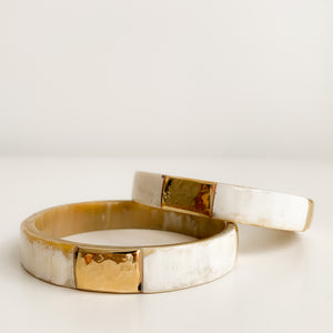 ZURI BANGLE WHITE - Ashepa Lifestyle