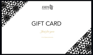 Gift Card - Ashepa Lifestyle