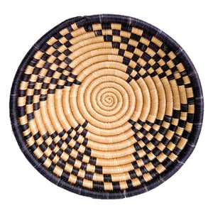 BLACK SWIRL SWEETGRASS BASKET - Ashepa Lifestyle