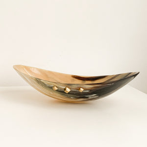 ANKOLE DISPLAY BOWL- DARK GRAIN - Ashepa Lifestyle